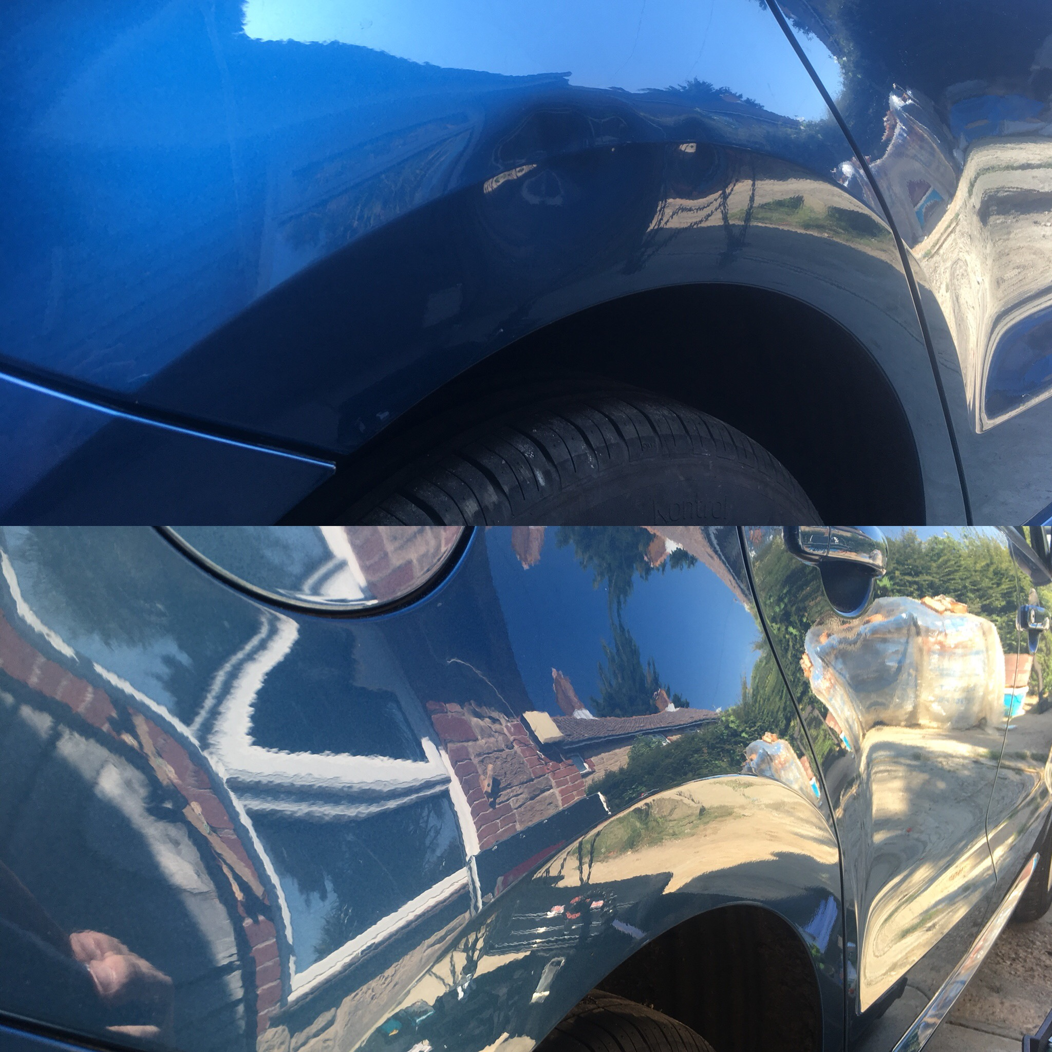 Vw polo Rear wing Repair